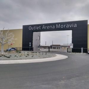 Outlet Arena Moravia v Ostravě - LINEAR