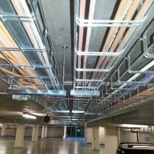 Podzemní garáže Janáčkovo divadlo, Brno